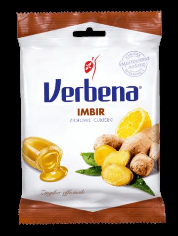 Opakowanie imbirowych cukierków Verbena